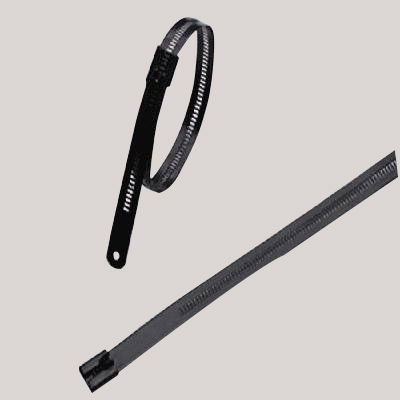 Coated Multi Lock Stainless Steel Cable Tie